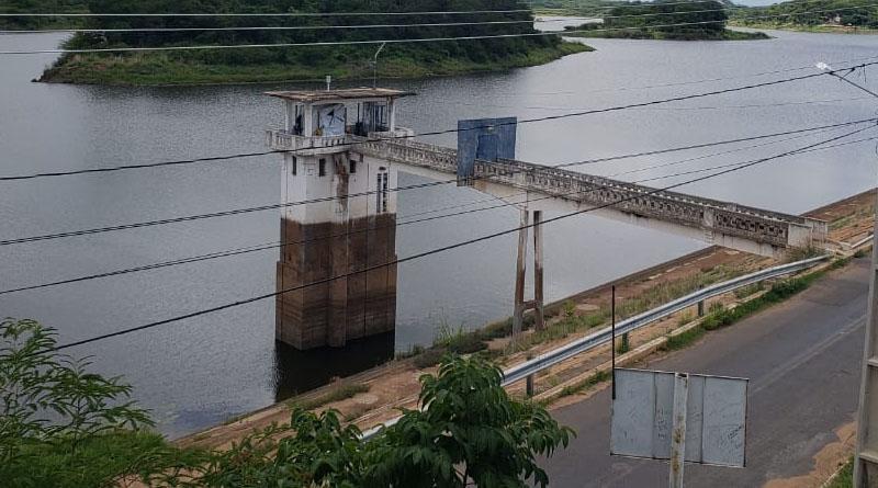 Após forte chuva o açude de São Gonçalo que abastece a cidade de Sousa ultrapassa os 15 milhões m³