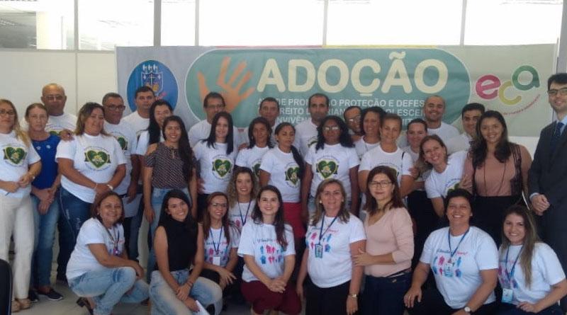 Comarca de Sousa realiza curso de formação para 28 pretendentes à adoção