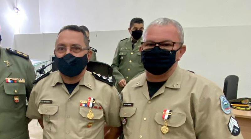 Militares do 14º Batalhão de Sousa recebem honraria máxima da Polícia Militar da PB