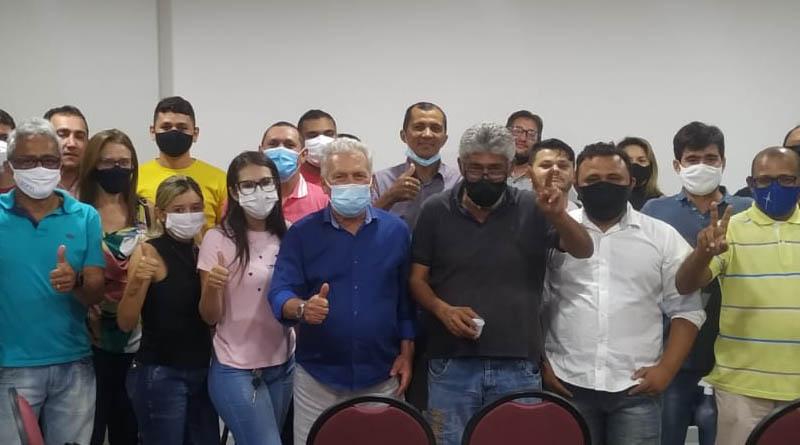 ALINHADOS: Zé Aldemir e PP de Sousa realizam reunião em Sousa e mantém parceria - IMAGENS