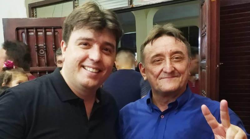 Jerferson Vieira e o ex-prefeito José Vieira - Foto: Arquivo/autoral