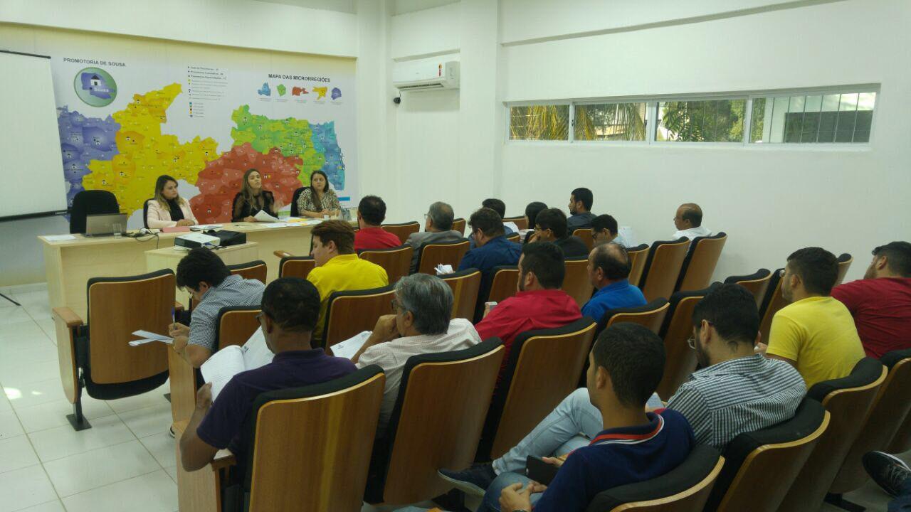 Reunião realizada entre donos de eventos e o MP