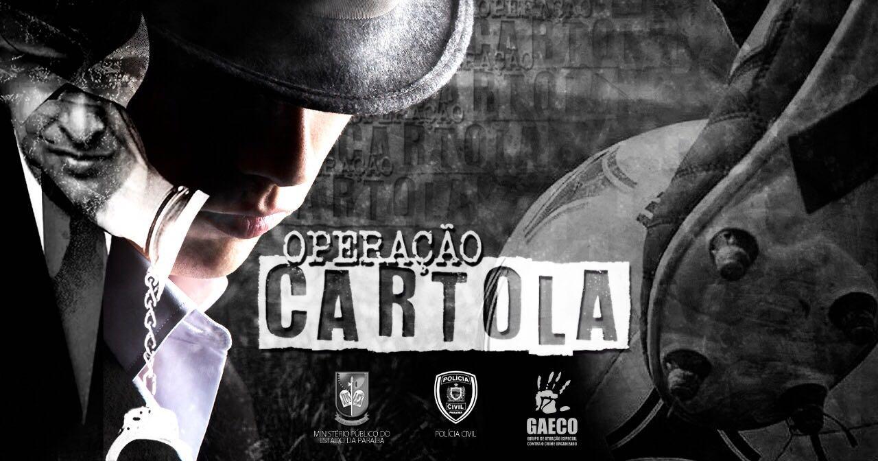 Operação Cartola: Audiência de interrogatório dos 17 réus é designada para o dia 7 de novembro