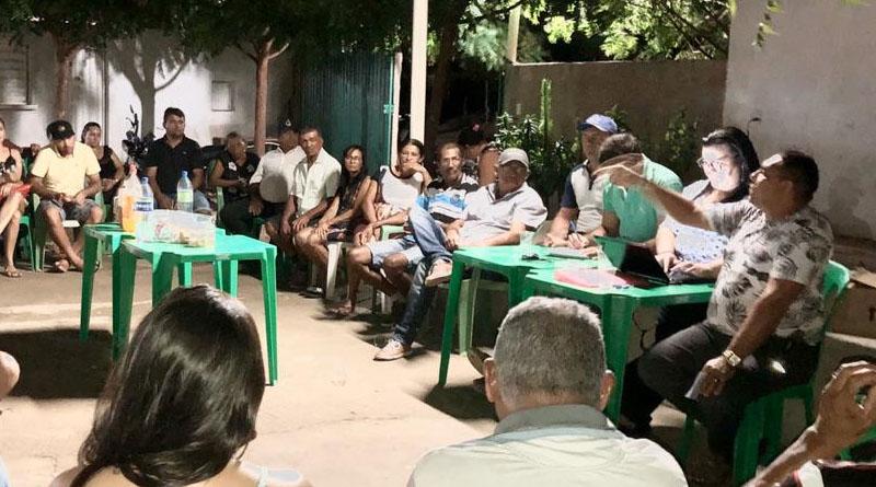 Vereador João Neto reúne militância e discute sua pré-candidatura a prefeito de Aparecida-PB