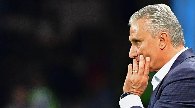 Técnico tende a ser mantido no comando da Seleção Brasileira mesmo após revés (foto: Luis Acosta/AFP)